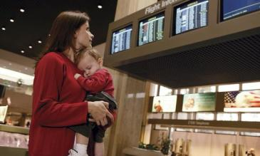 traveling with infants and complying to airport security regulations