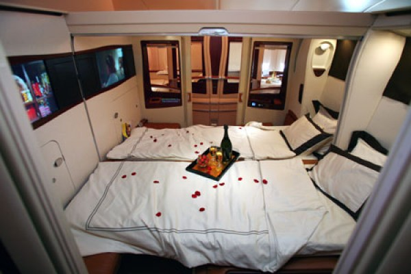 Plan de cabine Singapore Airlines Airbus A380 800 four class V1 ...