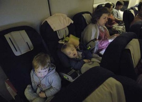 Delta Airlines Car Seat Install