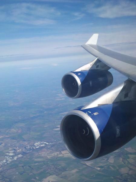 Plan De Cabine British Airways Boeing B747 400 345pax
