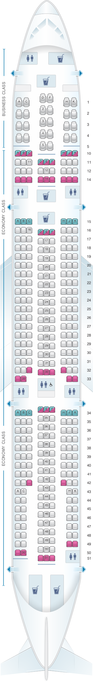boeing 747 400 seating