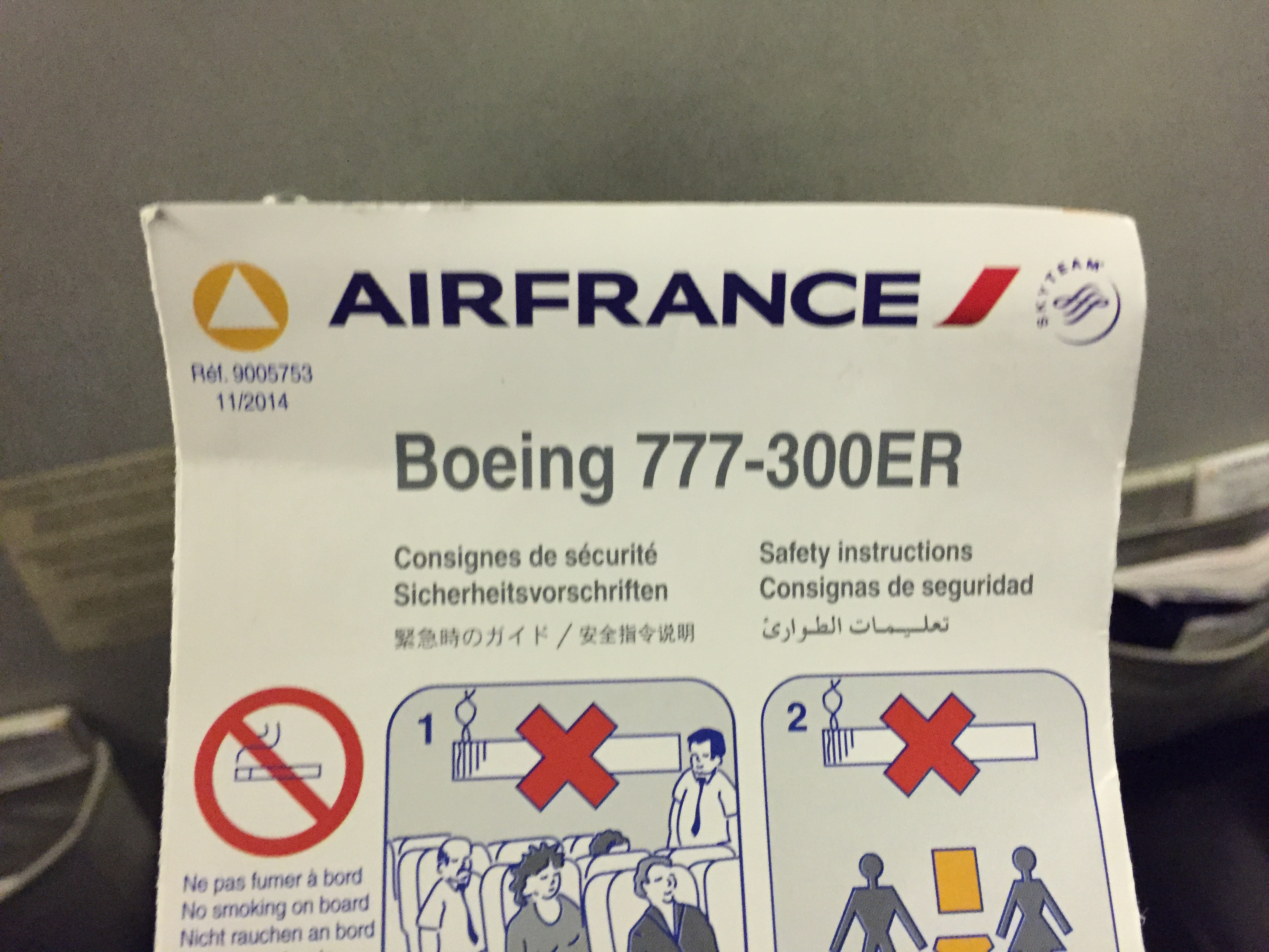 Plan de cabine Air France Boeing B777 300 Long-Haul ... Felipe Gonzalez